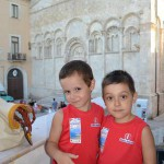 Lorenzo e Cristian le mascotte dell'Info Point